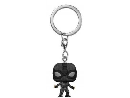 Funko POP! Keychain Spider-Man: Far From Home - Spider-Man (Stealth Suit) Vinyl Figure 4cm