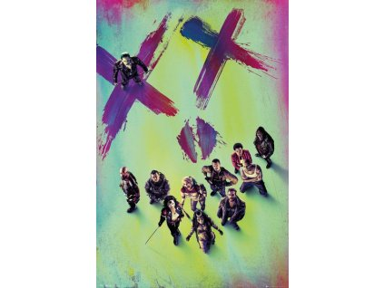 Suicide Squad Poster Pack Stand 61 x 91 cm (5)