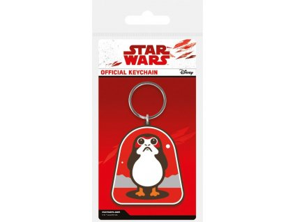 Star Wars Episode VIII Rubber Keychain Porg 6 cm