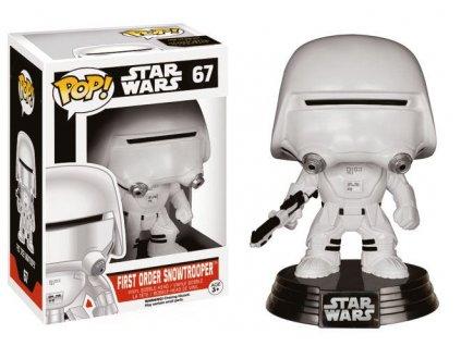 Funko POP! Star Wars Episode VII The Force Awakens - First Order Snowtrooper Vinyl Figure 10cm