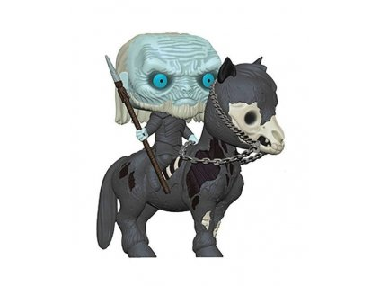 Funko POP! GOT S10 - White Walker on Horse Vinyl Figure