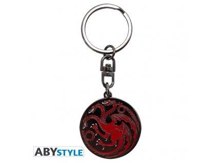 "GAME OF THRONES - Keychain ""Targaryen"""
