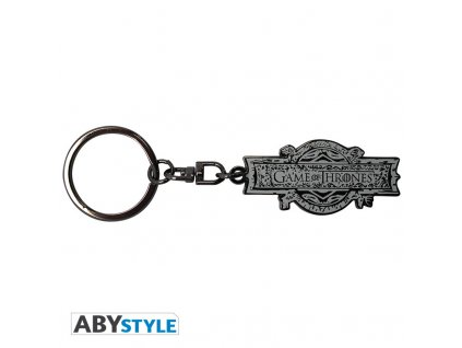 """GAME OF THRONES - Keychain """"Opening logo"""""""