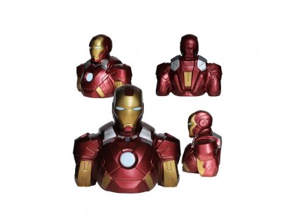 IRON MAN - Money bank Bust 22cm
