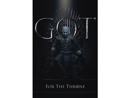 Plakát THE NIGHT KING FOR THE THRONE/150 g