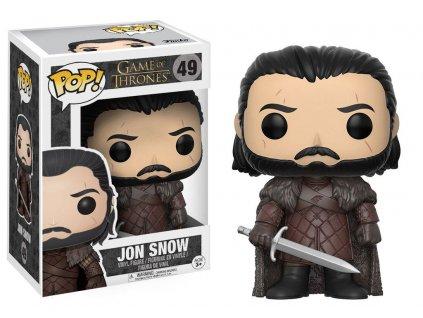Funko POP! Game Of Thrones - Jon Snow (new look) Vinyl Figure 10cm