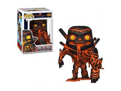 425060 figurka funko pop spider man far from home molten man