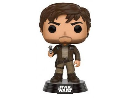 Funko POP! Star Wars Rogue One - Cassian in brown Jacket Vinyl Figure 10cm limited