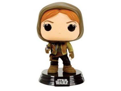 Funko POP! Star Wars Rogue One - Jyn Erso hooded Vinyl Figure 10cm limited