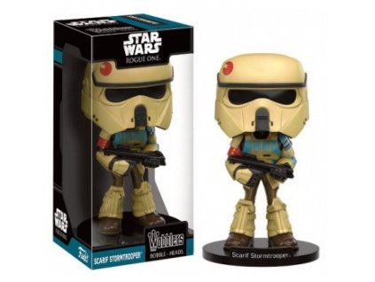 Funko Wacky Wobblers Star Wars Rogue One - Scarif Stormtrooper Bobble Head 15cm