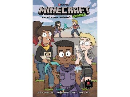 Minecraft komiks TITULKA FINAL RGB