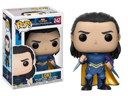 Funko POP! Marvel Thor Ragnarok The Movie - Loki Vinyl Figure Bobble-Head 10cm