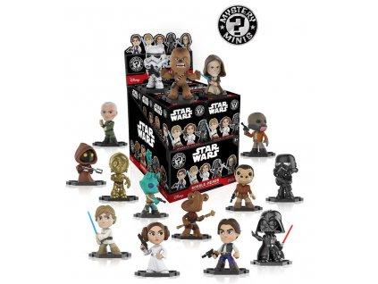 Star Wars Mystery Minis Vinyl Mini Figures 6 cm Display Classic (12)