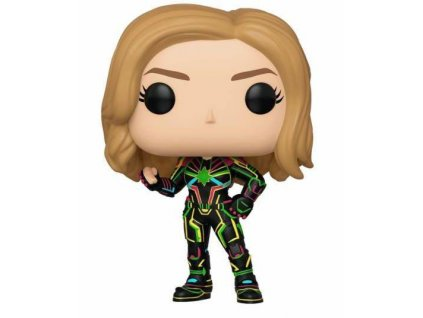 Funko POP! Captain Marvel - Captain Marvel w/Neon Suit Vinyl Figure 10cm