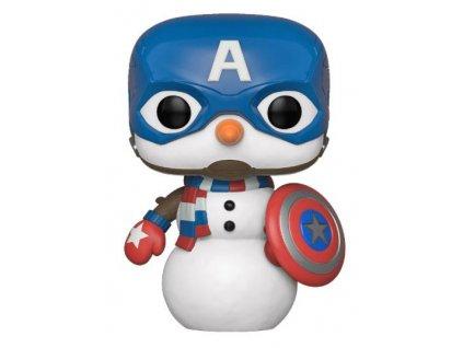 429224 figurka funko pop marvel holiday captain america
