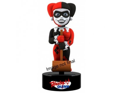 DC Comics - Harley Quinn Powered Body Knocker 15cm Bobble Head