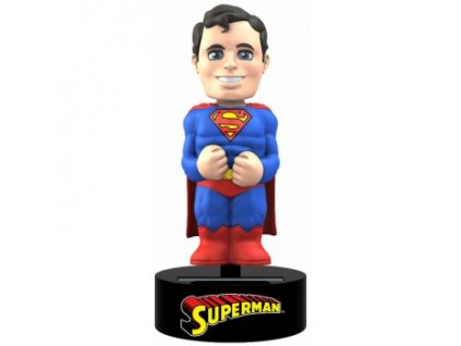 DC Comics - Superman Solar Powered Body Knocker 15cm Bobble Head