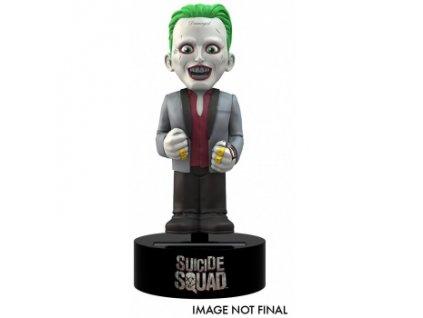 DC's Suicide Squad The Movie - Joker Solar Powered Body Knocker 15cm Bobble Figure