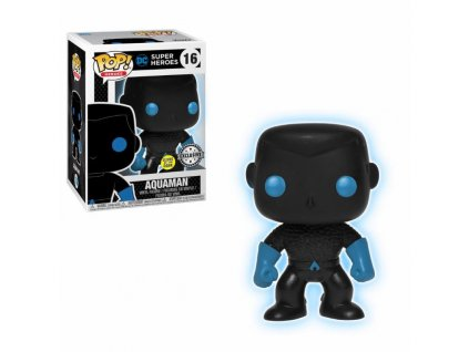 429569 1 figurka funko pop justice league aquaman silhouette glow in the dark