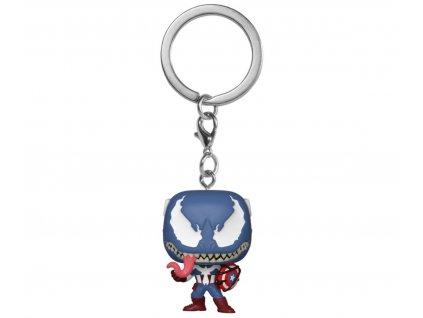 [PŘEDOBJEDNÁVKA - 14.2.2020] Klíčenka Pocket POP! Marvel Venom - Captain America