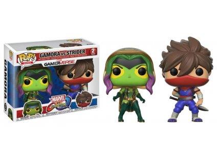 Funko POP! Games Marvel vs. Capcom Infinite - Gamora vs Strider 2-PACK Vinyl Figure 10cm