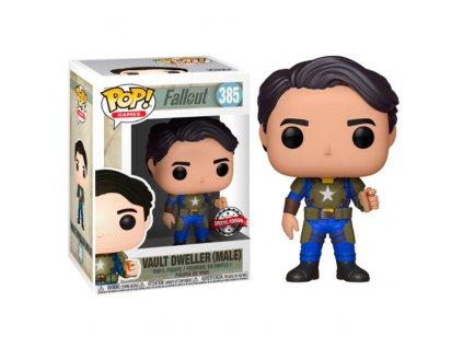 POP figure Fallout Vault Dweller Exclusive