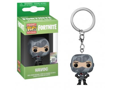 Funko POP! Keychain: Fortnite - Havoc Vinyl Figure 4cm