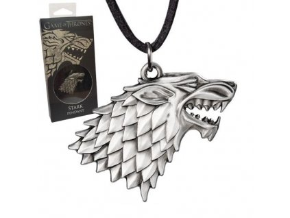 Game of Thrones Pendant Stark náhrdelník