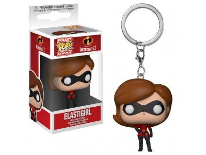 Klíčenka Pocket POP! Incredibles 2 - Elastigirl