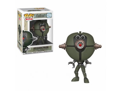 Funko POP! Fallout - Assaultron Vinyl Figure 10cm