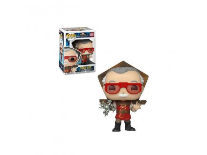Figurka Funko POP! Icons: Stan Lee v Ragnarok Outfitu