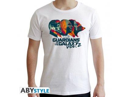 Tričko MARVEL Strážci Galaxie bílé