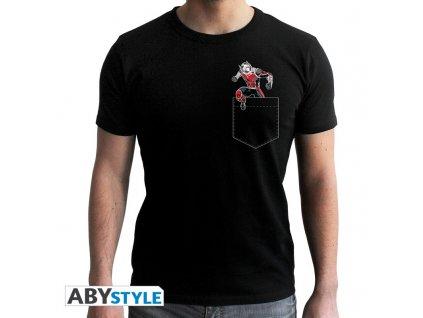 Tričko MARVEL Ant-Man černé