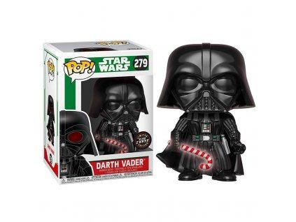 Figurka Funko POP! Star Wars: Vánoční Darth Vader [GLOW CHASE]