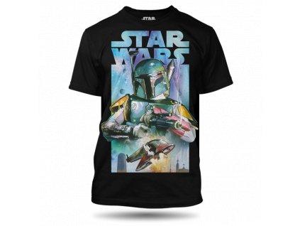 Tričko Star Wars Bobba Fet pánské