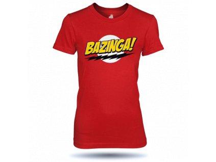 Dámské tričko Bazinga classic
