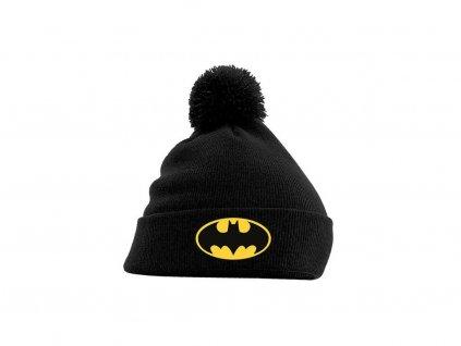 Čepice - zimní kulich DC Batman Logo