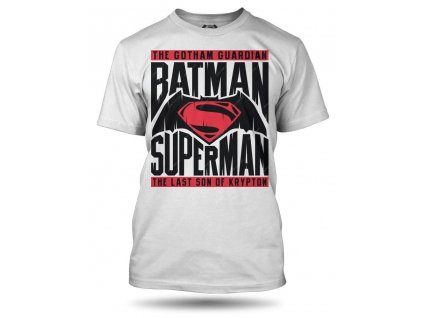 Tričko Superman vs Batman pánské