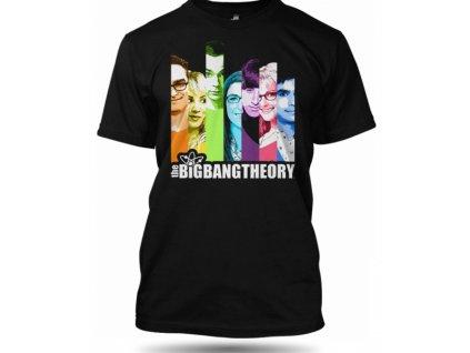 Tričko The Big Bang Theory Stripes