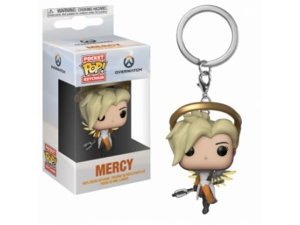 Klíčenka Pocket POP! Overwatch - Mercy