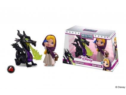 Disney Metalfigs Diecast Mini Figures 2-Pack Maleficent & Briar Rose 10 cm