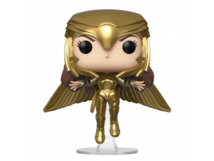 Funko POP! Wonder Woman 1984 - Wonder Woman (Gold Flying Pose) Vinyl Figure