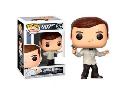 POP figure James Bond Roger Moore White Tux Exclusive