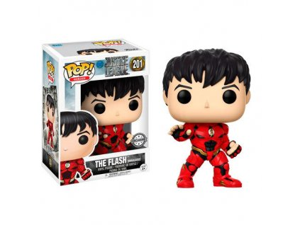 POP figure DC Unmasked Flash Exclusive