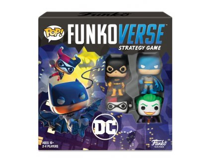 DC Comics Funkoverse Board Game 4 Character Base Set *English Version*