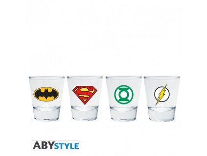Panákové skleničky DC COMICS