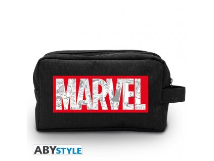 marvel toilet bag logo