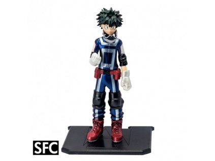 my hero academia figurine izuku midoriya x2 metal foil
