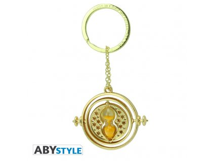 harry potter keychain 3d premium time turner x2