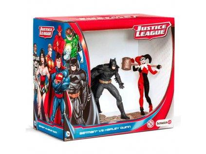 DC Comics figurky Batman vs Harley Quin